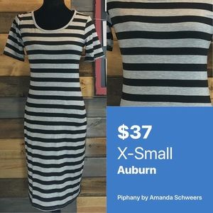 Piphany Honey & Lace XS Auburn Dress